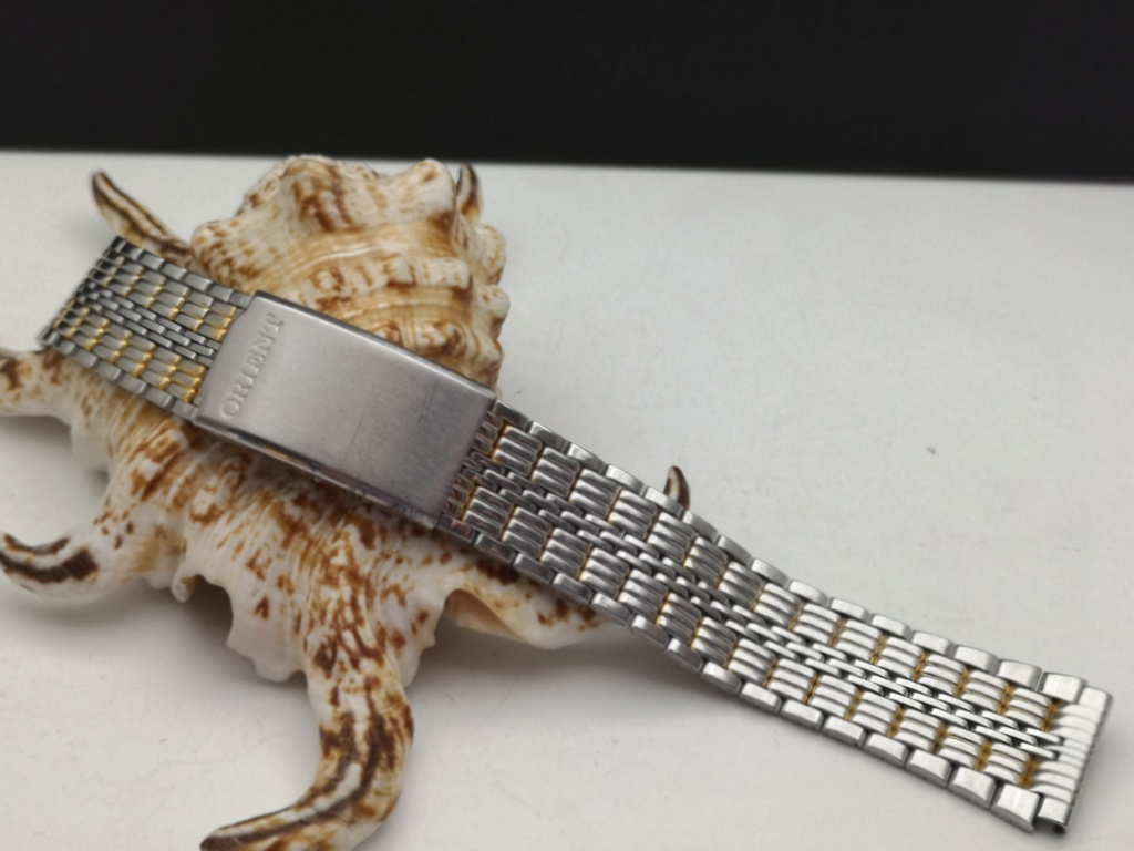 [Trocado]  Bracelet Metalica ORIENT c/ 18mm largura + 16 cm comprimento Img_2056