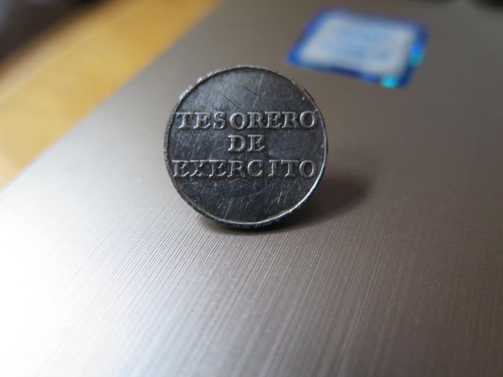 Botón Administración Militar (Tesorero). 1791-1837. Img_3413