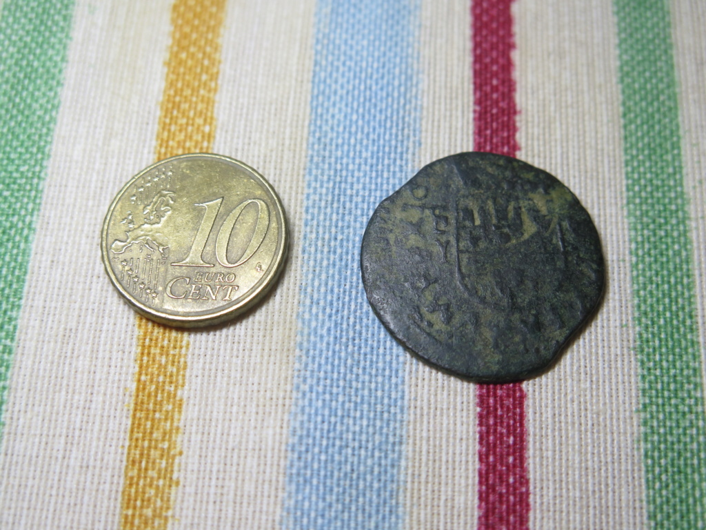 16 maravedis Felipe IV. Falsa de época?? Img_3529