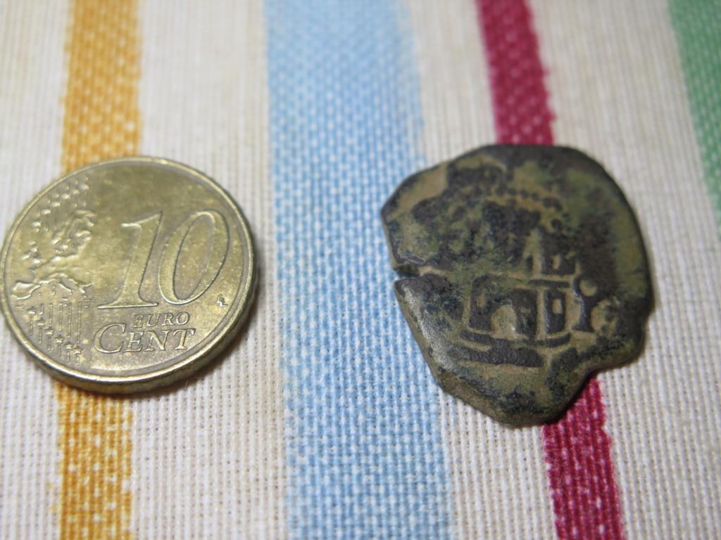 2 maravedís de Felipe II de Cuenca. Img_3530