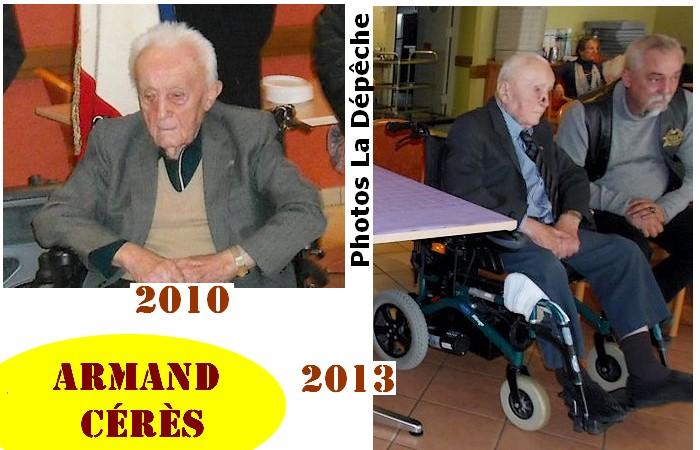 B- PRÉSENTATION DE FRATRIES DE CENTENAIRES Armand10