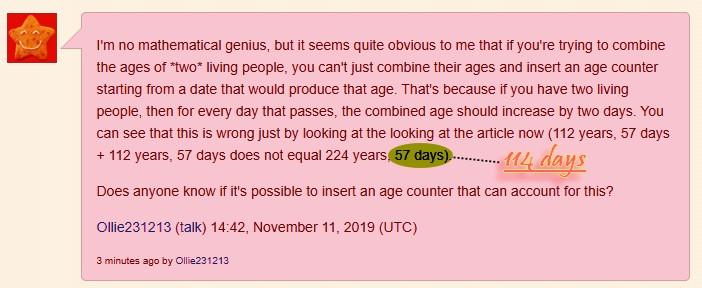 Longévité et population Calcul10