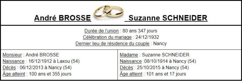 E- LES PLUS LONGS MARIAGES FRANÇAIS - Page 2 Couple17