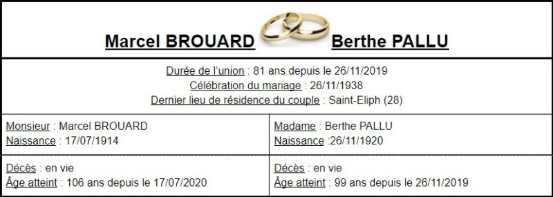 E- LES PLUS LONGS MARIAGES FRANÇAIS - Page 2 Couple37