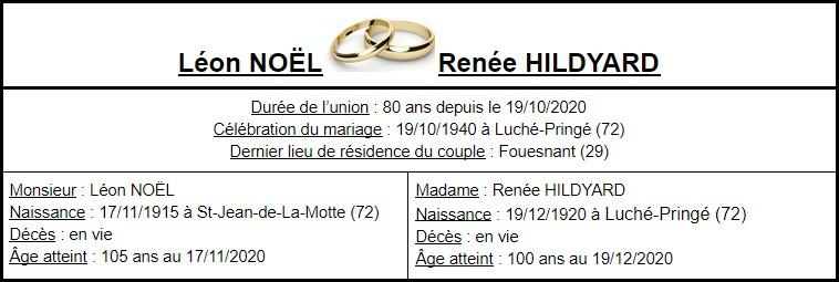 E- LES PLUS LONGS MARIAGES FRANÇAIS Couple59