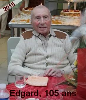 B- PRÉSENTATION DE FRATRIES DE CENTENAIRES Edgar_10