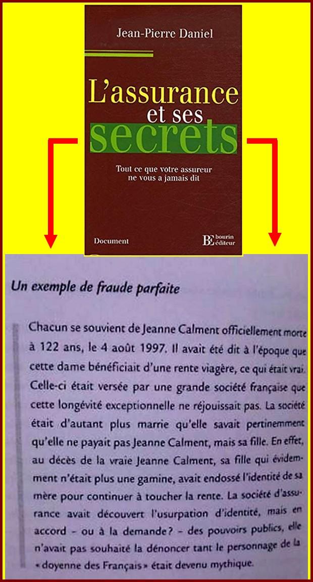 D- DÉBAT SUR L'AUTHENTICITÉ DES 122 ANS DE JEANNE CALMENT - Page 15 Fraude10