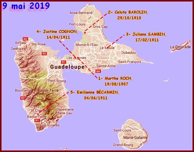 Cartographie des grands centenaires Hommag11