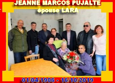 Décès de personnes de 110 ans et plus - Page 2 Jeanne15