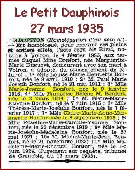 B- PRÉSENTATION DE FRATRIES DE CENTENAIRES - Page 5 Les_bo10