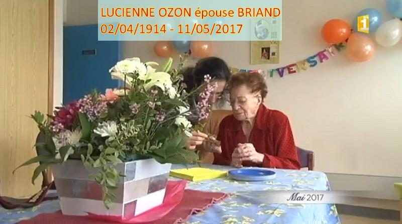 Actualité des autres centenaires Lucien12