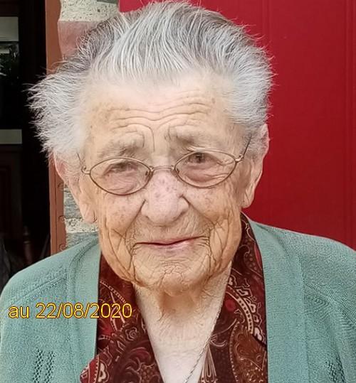 Preuves de vie récentes sur les personnes de 107 ans Maria_10