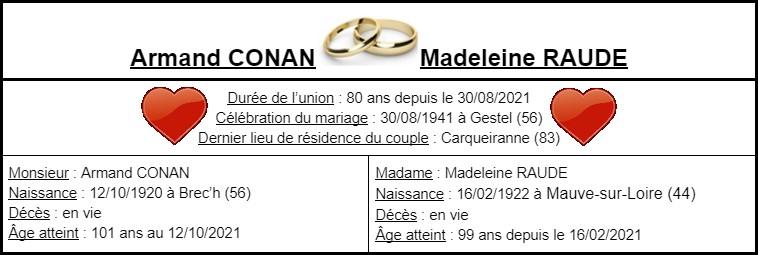 E- LES PLUS LONGS MARIAGES FRANÇAIS Mariag14