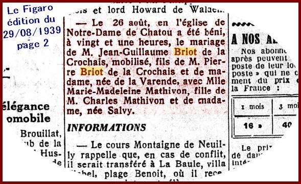 B- PRÉSENTATION DE FRATRIES DE CENTENAIRES - Page 4 Marie-11