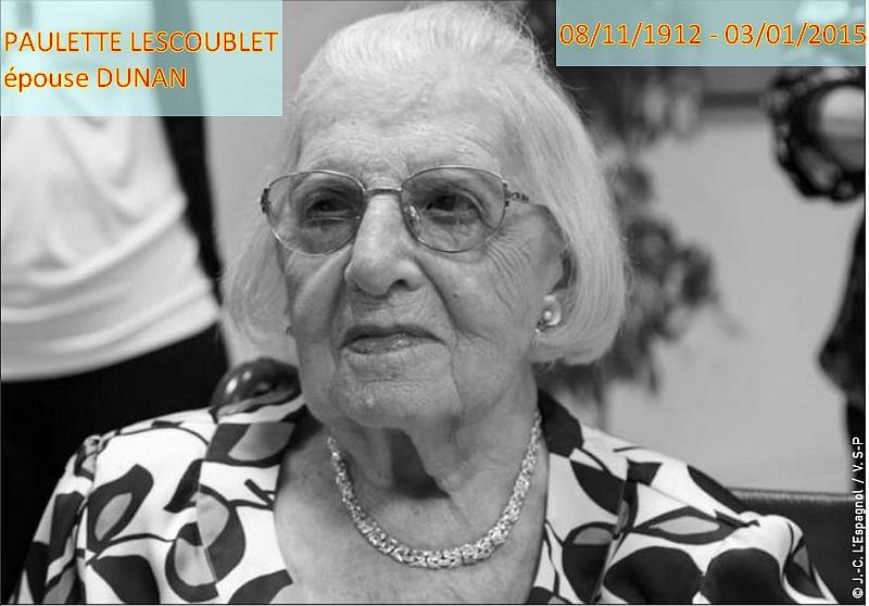 Actualité des autres centenaires Paulet10