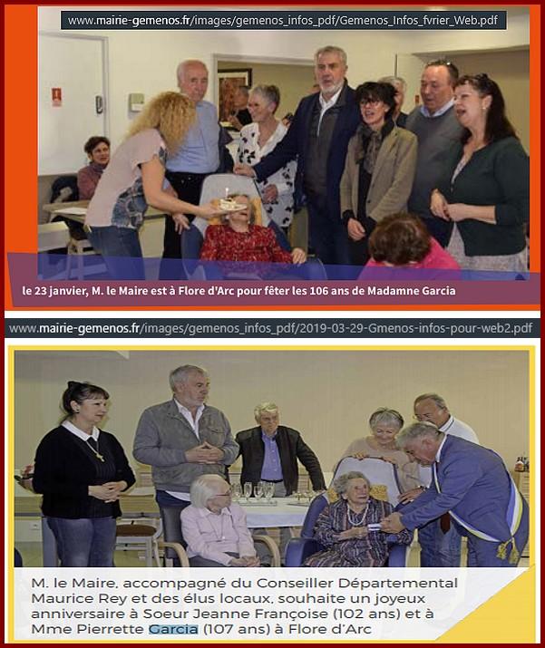 Preuves de vie récentes sur les personnes de 107 ans Pierre10