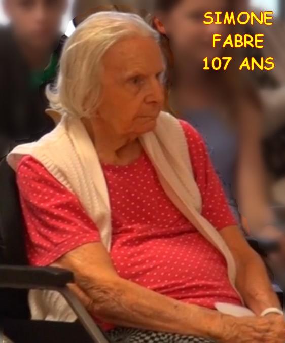 Preuves de vie récentes sur les personnes de 107 ans - Page 7 Simone11
