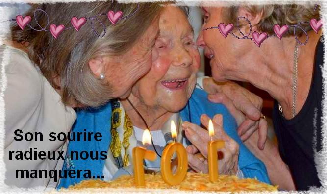 Décès de personnes de 108 ans - Page 2 Yvette10