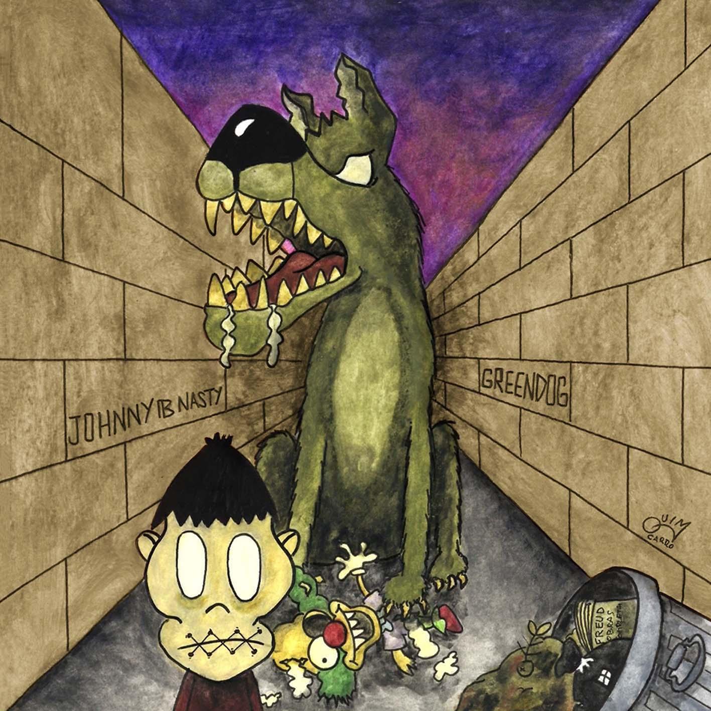 """Edición CD """"Greendog"""" Johnny B. Nasty ya a la venta y nuevo EP en camino Front14"""