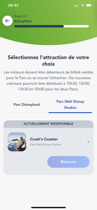 Application Disneyland Paris officielle sur iPhone, Android et iPad - Page 25 Img_7312