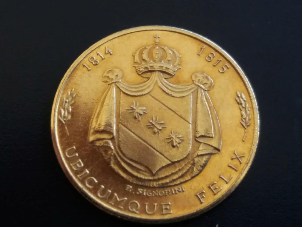 Ayuda con medalla de Napoleón. Img-2011