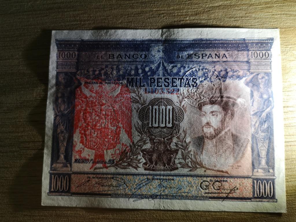 1000 pesetas de 1925 con sello en seco, 4 ejemplos Img_2025
