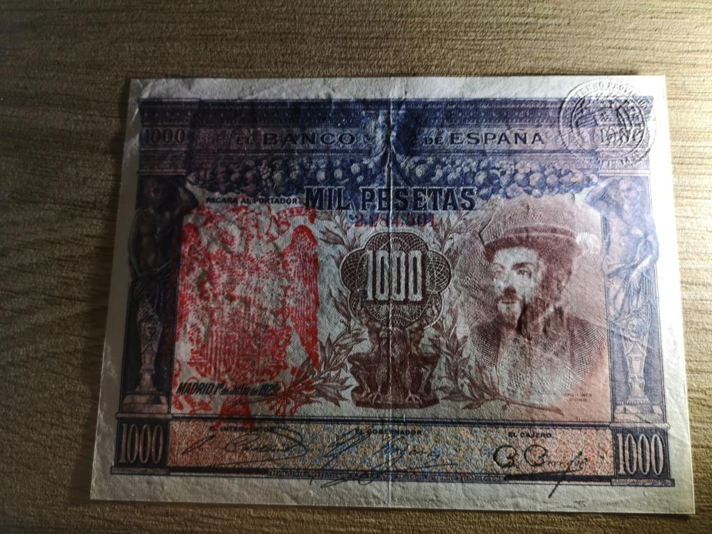1000 pesetas de 1925 con sello en seco, 4 ejemplos Img_2029