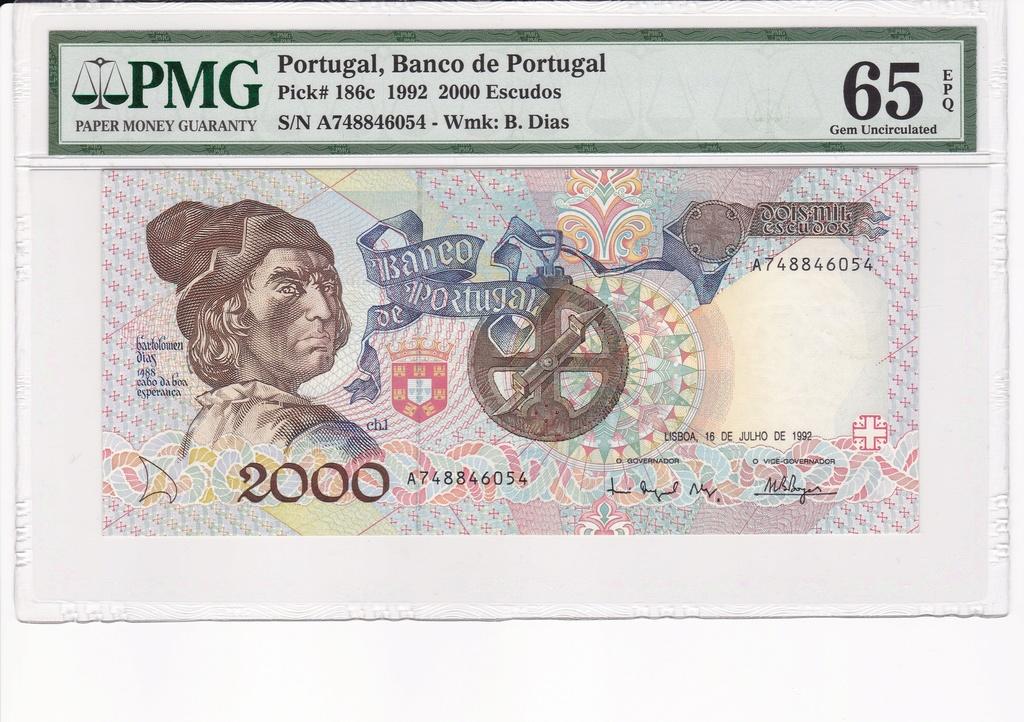 COLECCIÓN DE BILLETES PORTUGUESES Portug19