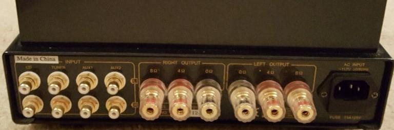 Switch para altavoces de distinta impedancia en Prima Luna 17593710