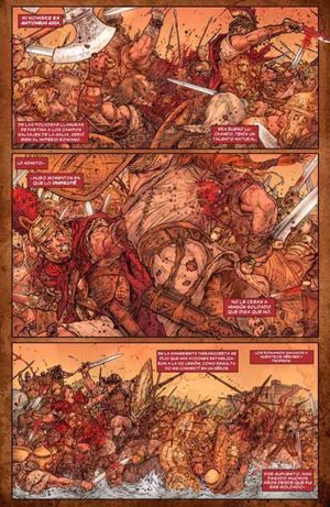 El arte del comic y la ilustración Britan10