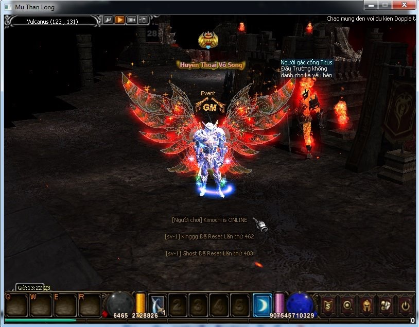 Mu Thần Long Autoreset Free Wings Set Item inshops Server Keeppoint C504ad10