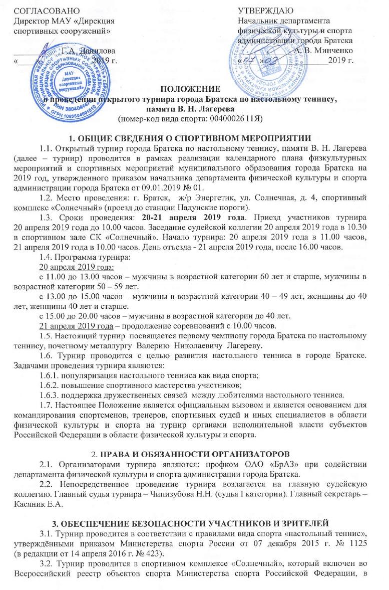 Турнир памяти В.Н. Лагерева 20-21 апреля 2019 113