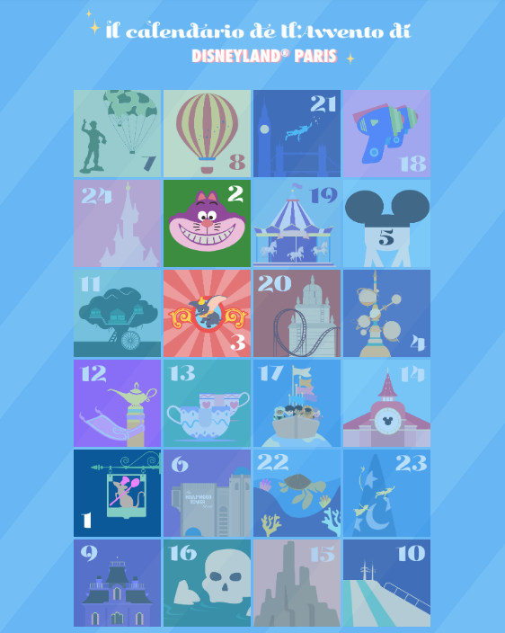 Il calendario dell'Avvento di Disneyland Paris Scherm14