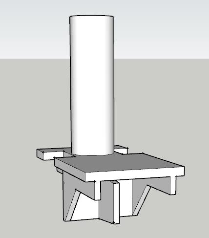 Impression 3D kickdown cassé Sketch10