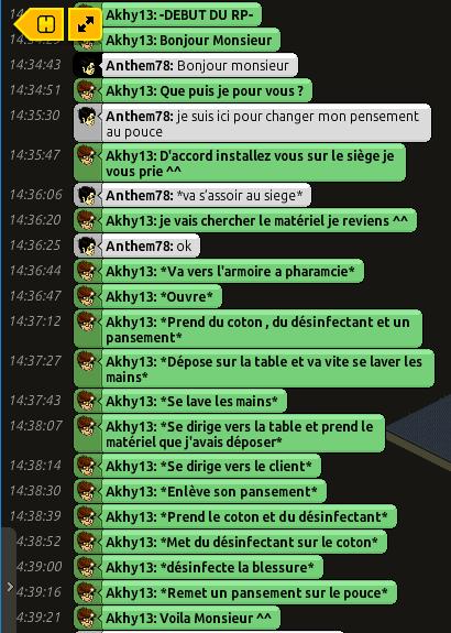 [C.H.U] Rapport d'action RP De Akhy13 Ant10