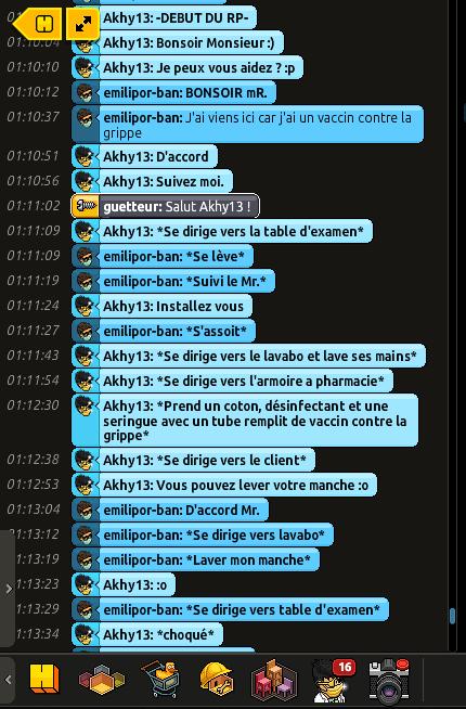 [C.H.U] Rapport d'action RP De Akhy13 Azer10