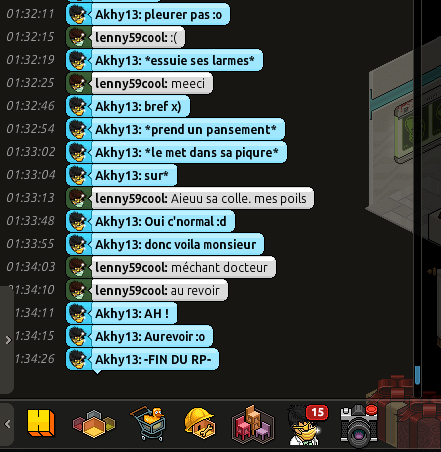 [C.H.U] Rapport d'action RP De Akhy13 Lenny210