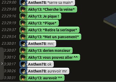 [C.H.U] Rapport d'action RP De Akhy13 The110