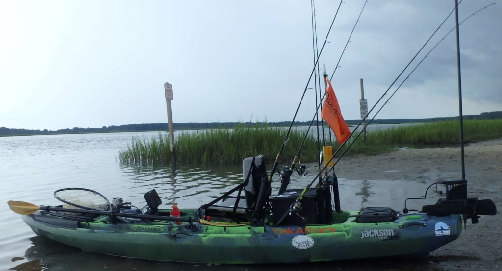 Kayak setup and rigging P8160010