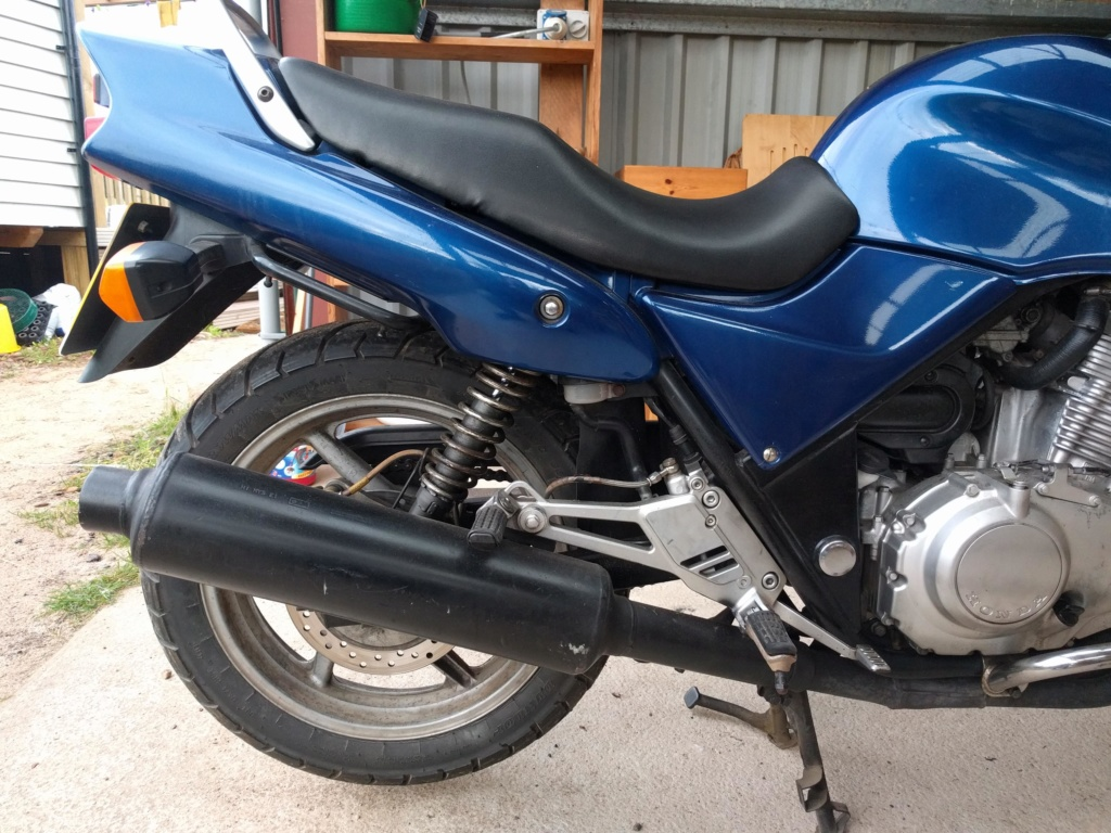 Hi :) Just got my first bike and looking to go touring... luggage advice? Img_2013