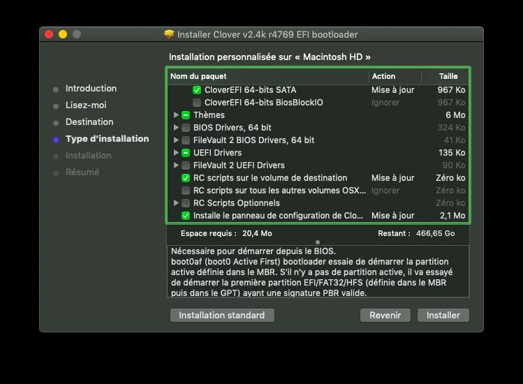 Installation MacOS Mojave Dell Inspiron 15R 5521 Captur11