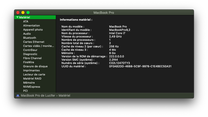 Installation MacOS Mojave Dell Inspiron 15R 5521 Info_s10