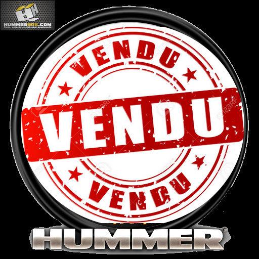 A Vendre Hummer H2 Peu de KM  VENDU Vendu110