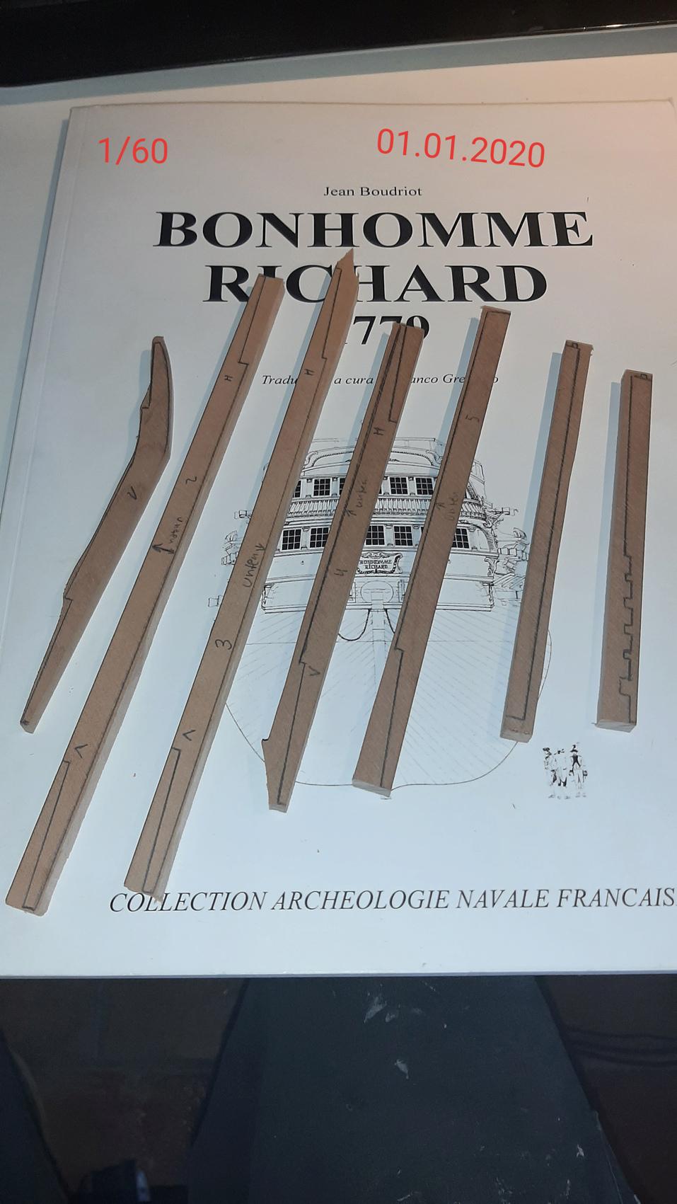 Bonhomme Richard 1779, échelle 1/60 par mtbbiker 20200121
