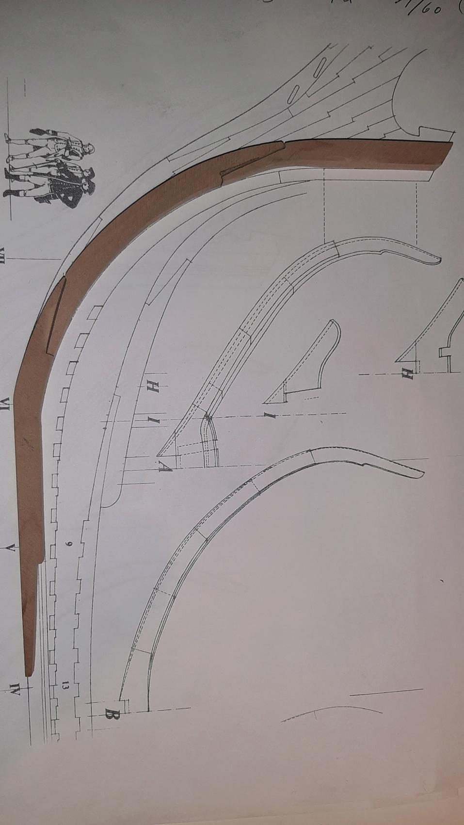 Bonhomme Richard 1779, échelle 1/60 par mtbbiker 20200124