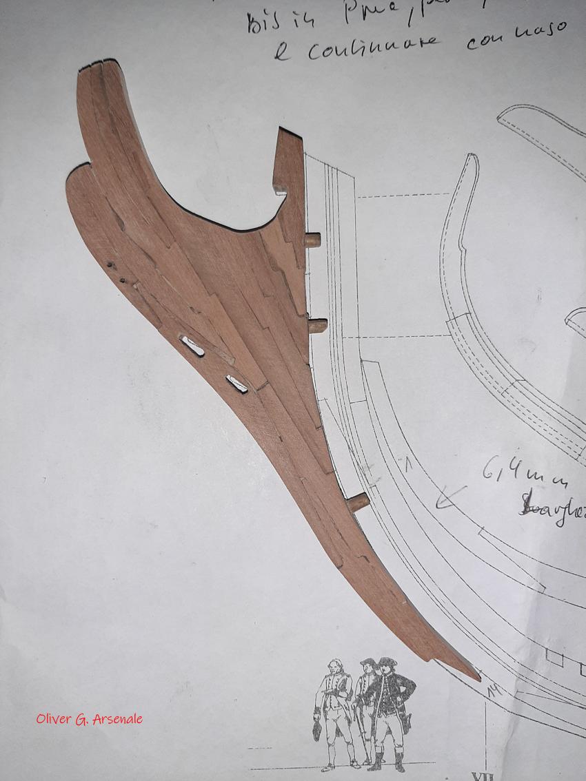 Bonhomme Richard 1779, échelle 1/60 par mtbbiker 20200514