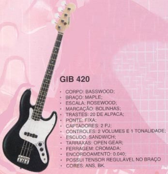 Giannini GIB 420 - Jazz Bass 261_im11