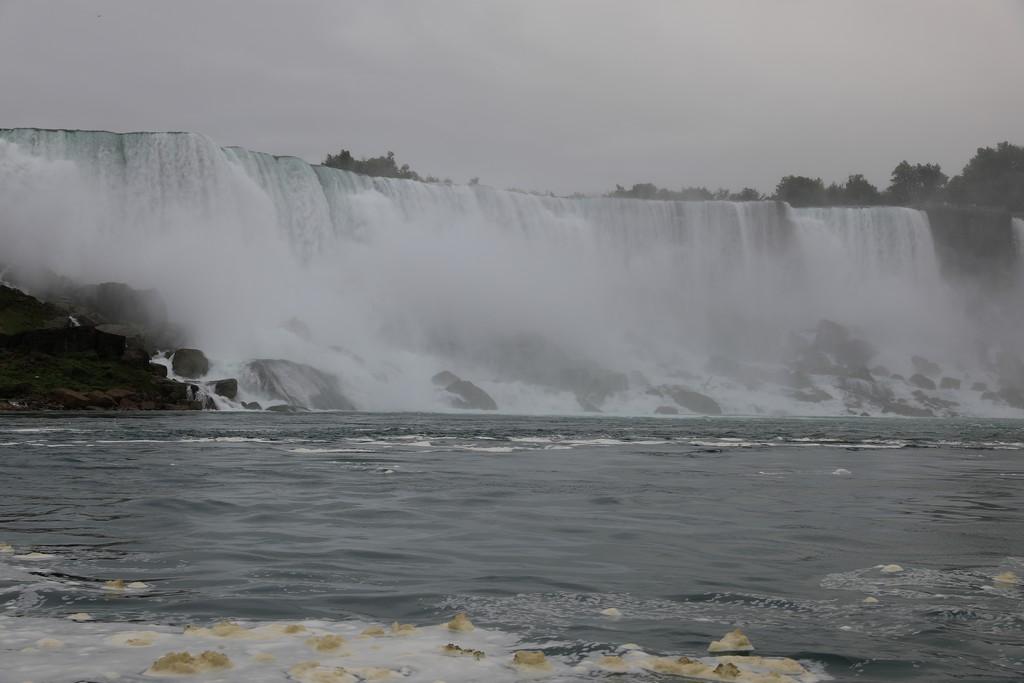 Mon voyage au pays de nos cousins Canadiens Chutes12