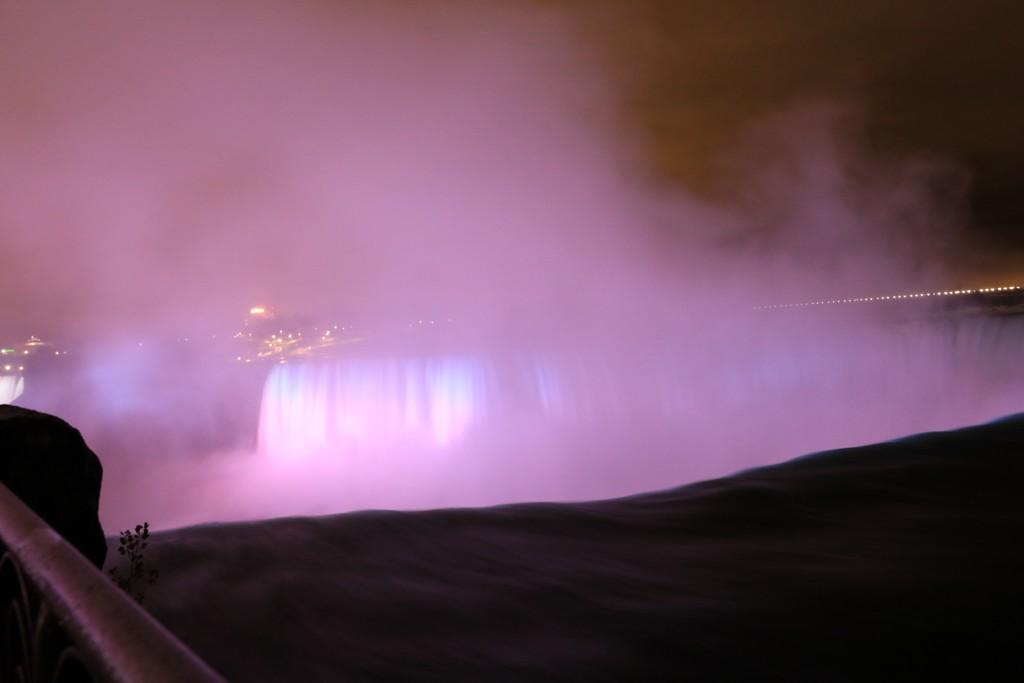 Mon voyage au pays de nos cousins Canadiens Chutes14