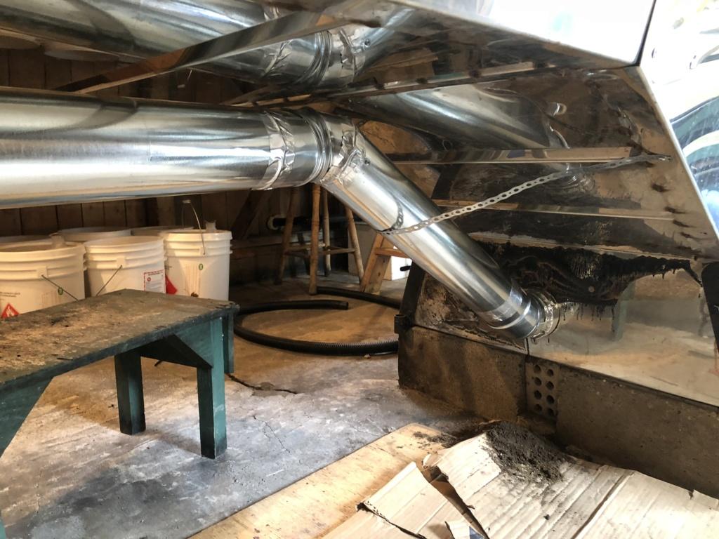 Installation Draft control et Diffuseur Img_7818